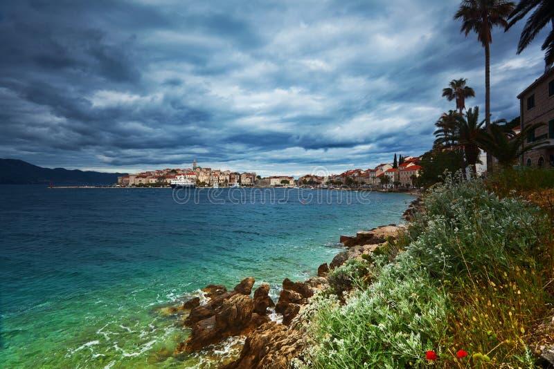 Korcula. Croatia fotografia de stock royalty free