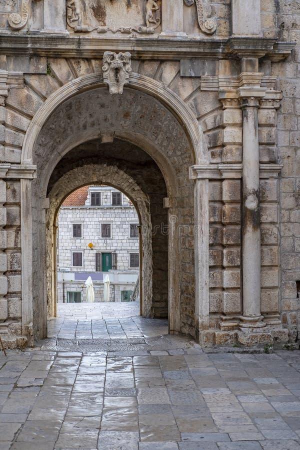 Korcula-Insel, Dalmatien Kroatien stockfotografie
