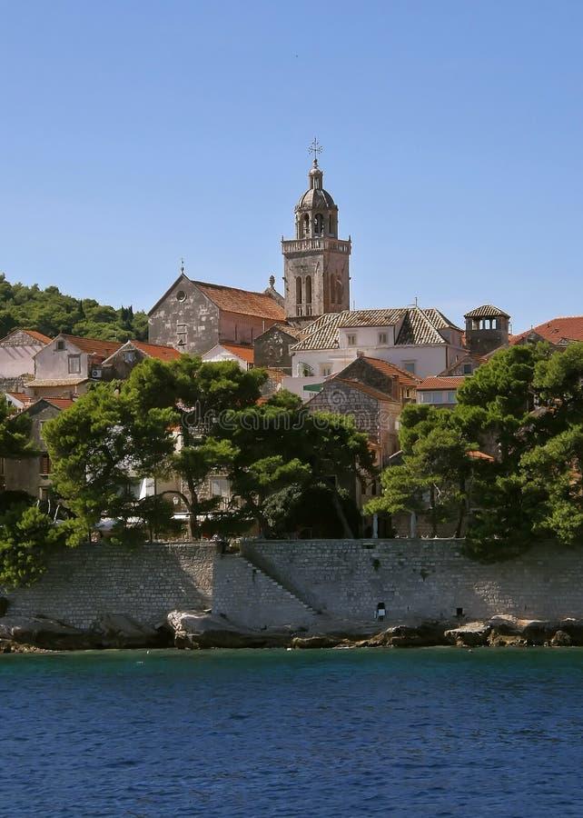 Korcula - Kroatië 2 royalty-vrije stock fotografie