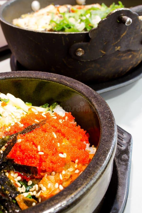 Koreańscy ryż z warzywem zdjęcie royalty free
