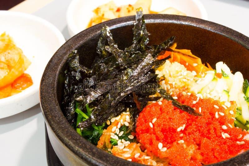 Koreańscy ryż z warzywem zdjęcia stock
