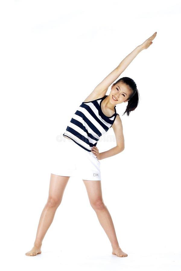 koreańska kobieta zdjęcie stock