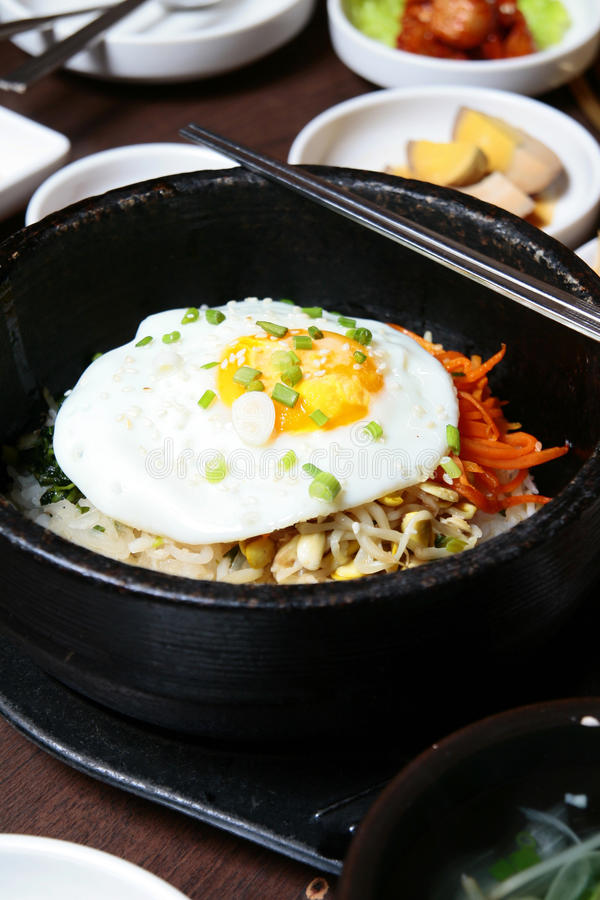 Koreańska kuchnia fotografia stock