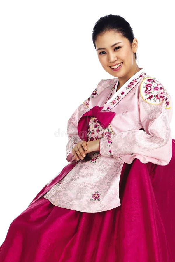 koreańska lady obrazy stock