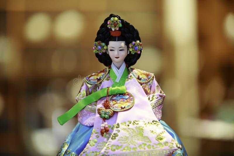 Koreańska lala fotografia royalty free