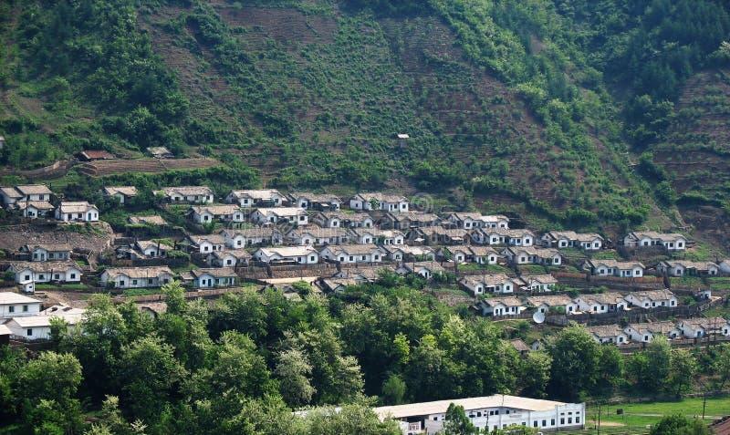 koreańska północnej zamieszkania fotografia royalty free