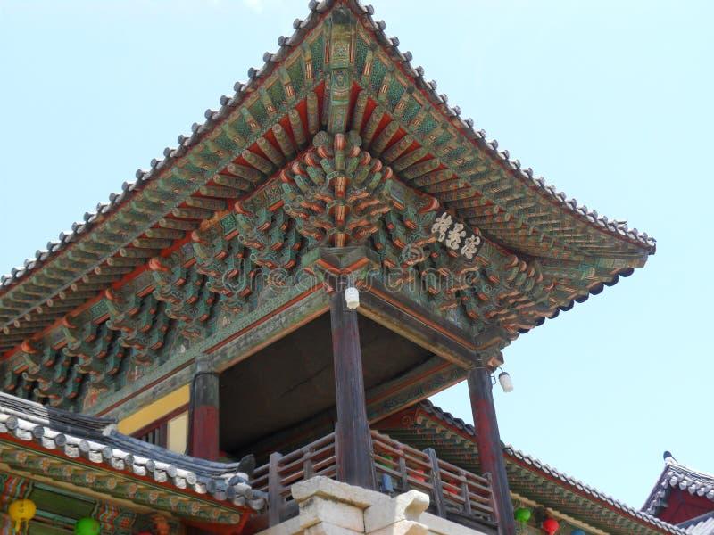 koreańska południowa świątynia zdjęcia stock
