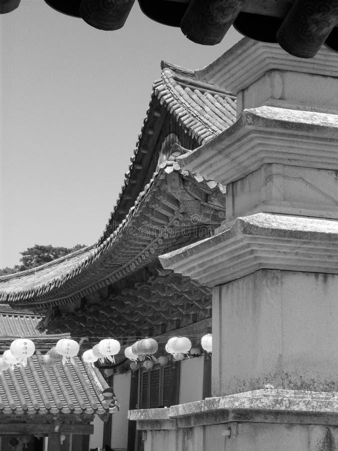 koreańska południowa świątynia obrazy royalty free