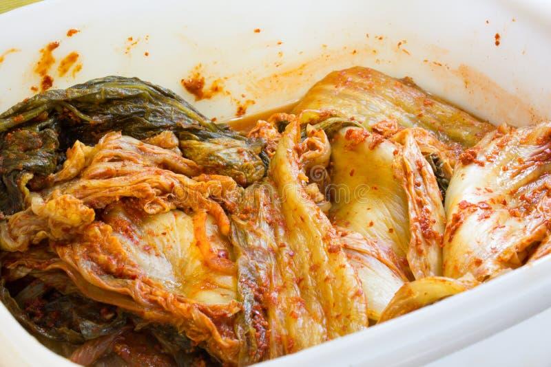 Koreański kimchi zdjęcie stock