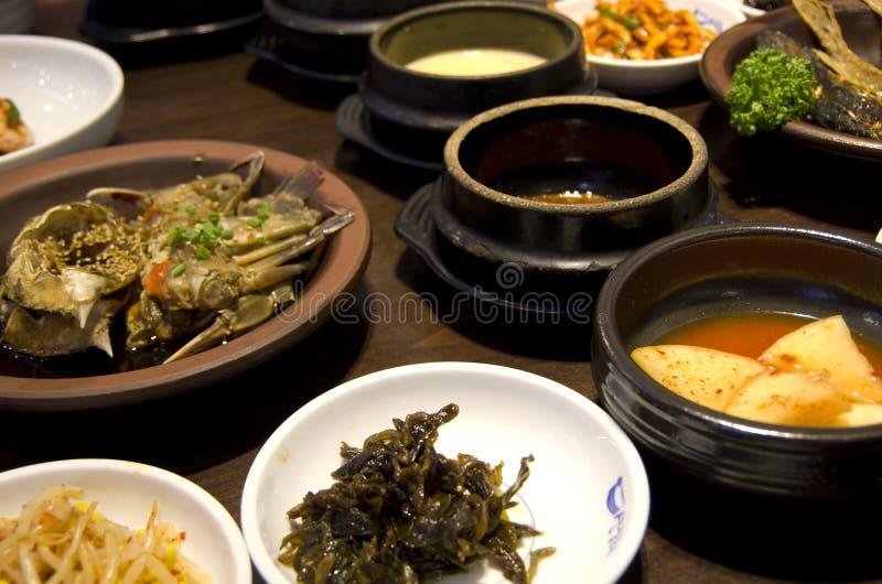 Koreański kuchni jedzenia kimchi zdjęcie stock