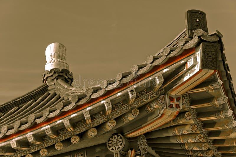 koreański zabytek fotografia royalty free