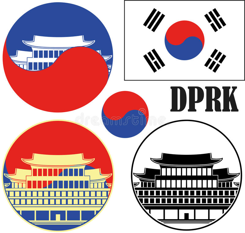 korea stock illustratie