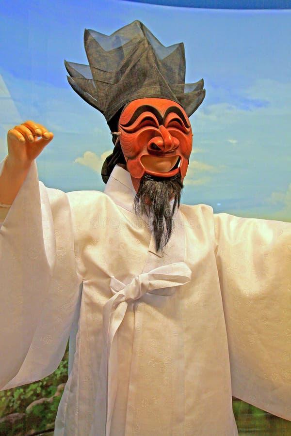 Korea Andong Mask Dance stock photos