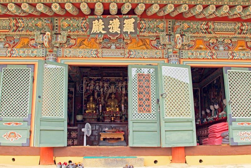 Korea Busan Beomeosa świątynia zdjęcia stock