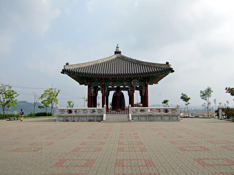 Korea dzwonkowi pokoju na południe zdjęcie royalty free