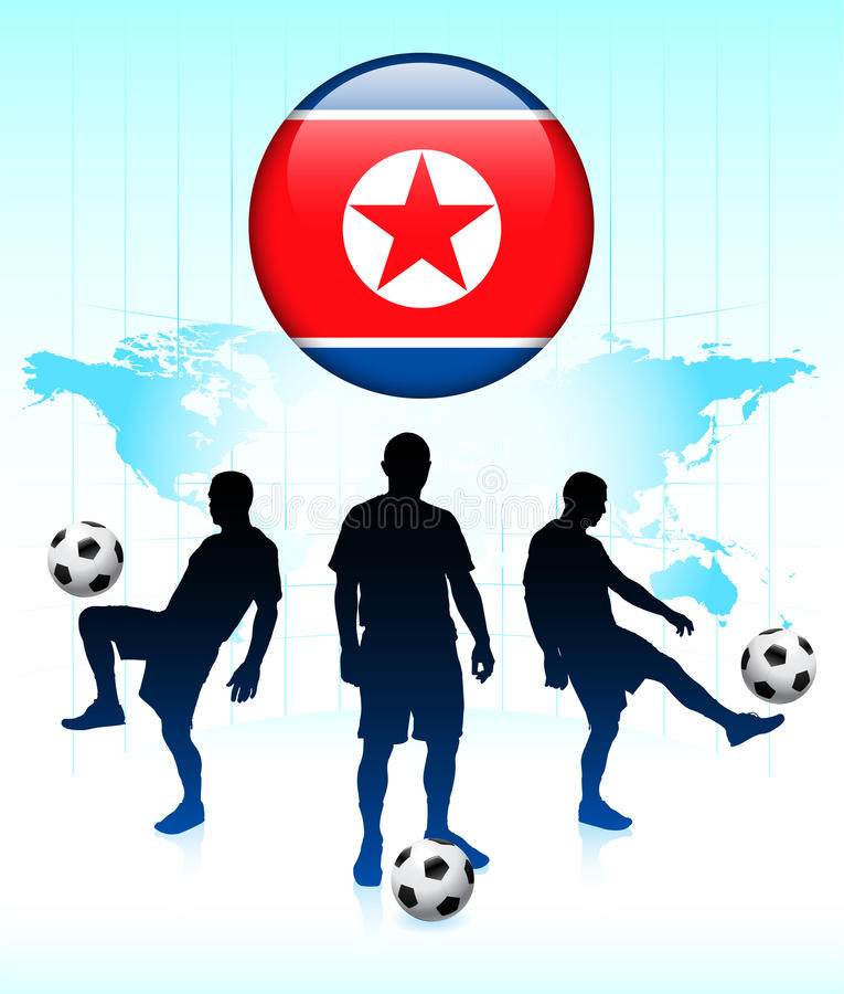 Download Korea Flag Icon With Soccer Team Stock Illustration - Illustration of group, design: 14271432