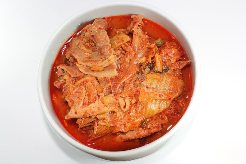 Korea kimchi chigae zdjęcie stock