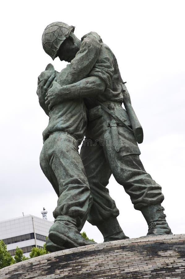 Korea-Kriegdenkmal, Seoul stockfotos