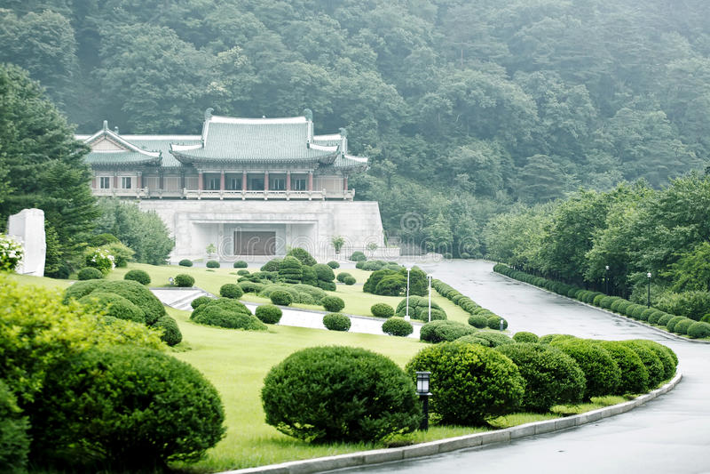 korea norr s scenisk fläck royaltyfri fotografi