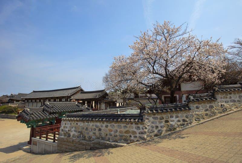 Korea Old House at Namsangol Hanok Village. In Seoul South Korea stock photos