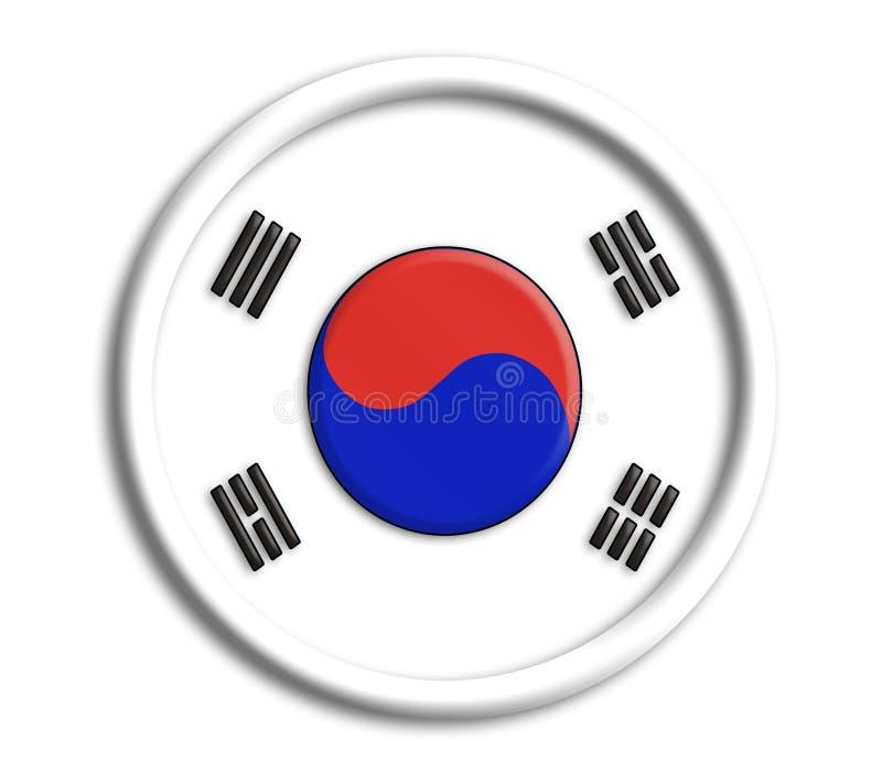 korea olympics shield иллюстрация штока