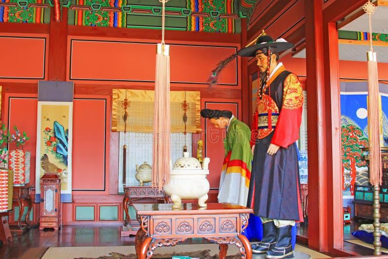 Korea Royal Traditional Palace stock photography