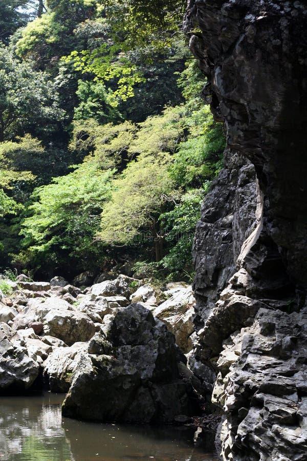 Korea ` s Cheju wyspy dolina zdjęcia royalty free