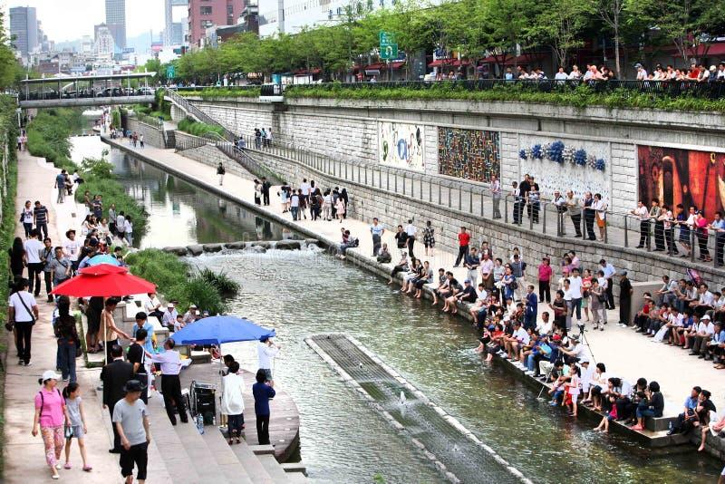 Korea Seoul stockfotografie