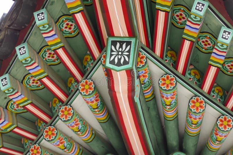 Korea stiltak arkivbild