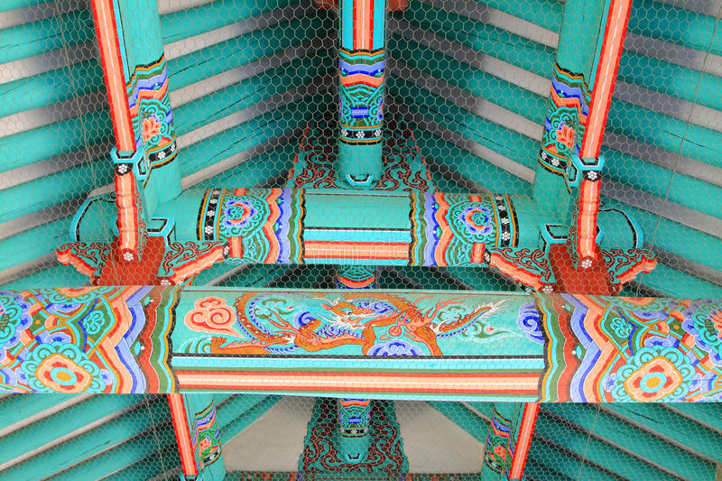 Download Korea Traditional Architecture In South Stock Image