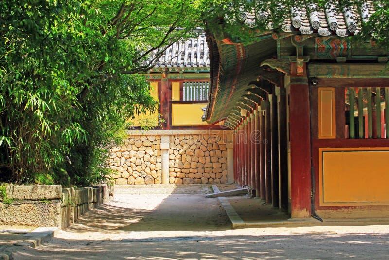 Korea UNESCO-Welterbe - Bulguksa-Tempel stockfotografie