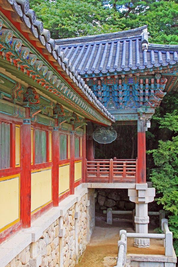 Korea UNESCO-Welterbe - Bulguksa-Tempel lizenzfreie stockfotografie