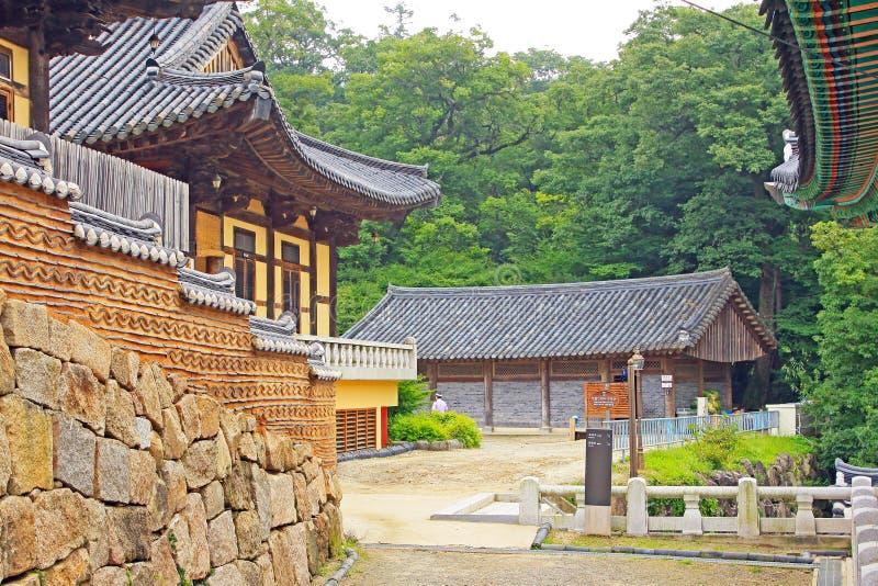 Korea UNESCO-Welterbe - Haeinsa-Tempel lizenzfreie stockfotografie
