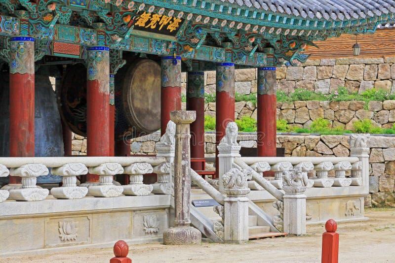 Korea UNESCO-Welterbe - Haeinsa-Tempel stockfoto