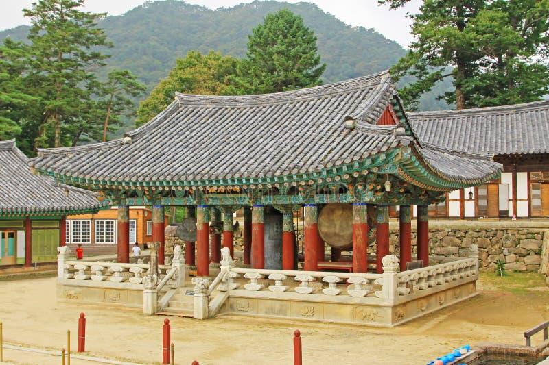 Korea UNESCO-Welterbe - Haeinsa-Tempel stockfotografie