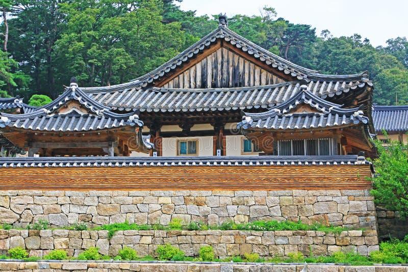 Korea UNESCO-Welterbe - Haeinsa-Tempel lizenzfreie stockbilder