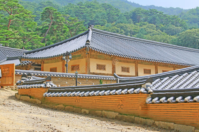 Korea UNESCO-Welterbe - Haeinsa-Tempel stockbilder