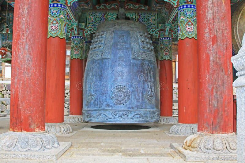 Korea UNESCO-Welterbe - Haeinsa-Tempel ` s Bell stockfoto