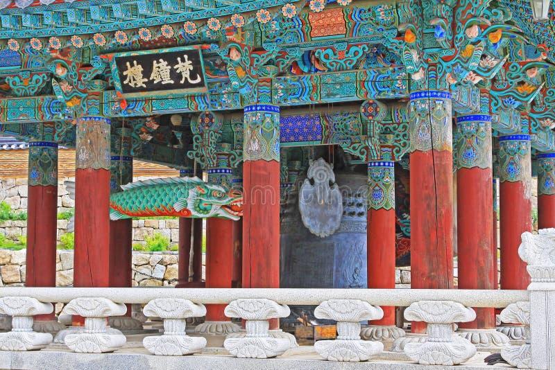 Korea UNESCO-Welterbe - Jongmyo-Schrein lizenzfreie stockfotografie
