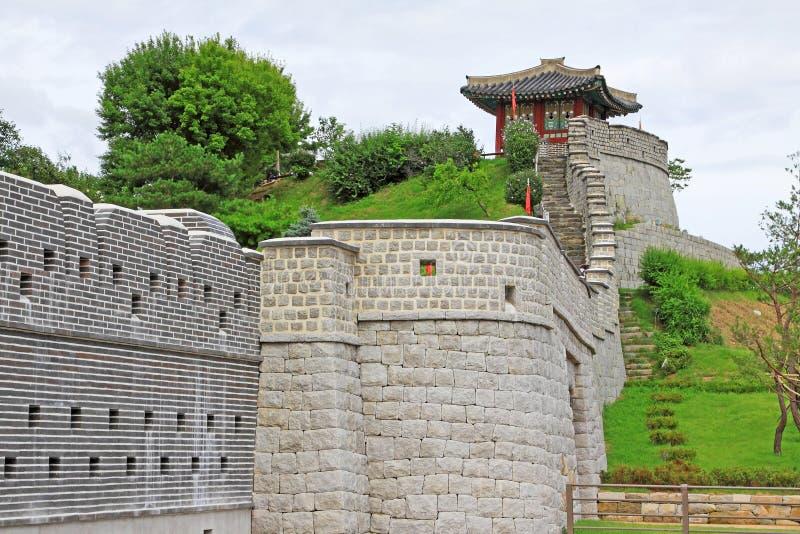 """Korea UNESCO-Welterbestätten †""""Hwaseong-Festung stockfotos"""