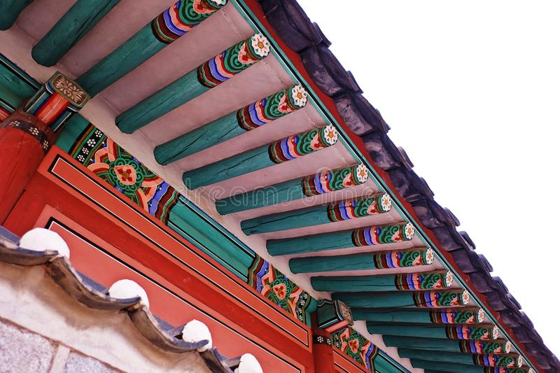 Koreaans Dak stock afbeelding