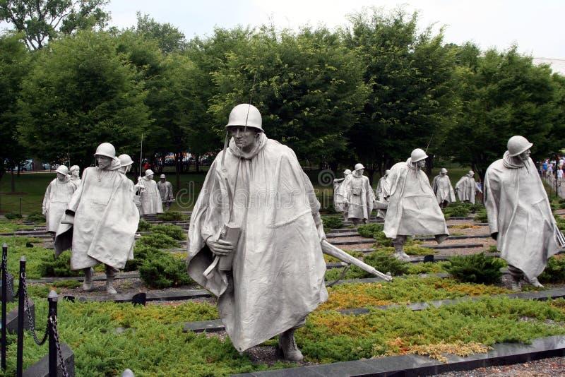 Koreaans Gedenkteken royalty-vrije stock afbeelding