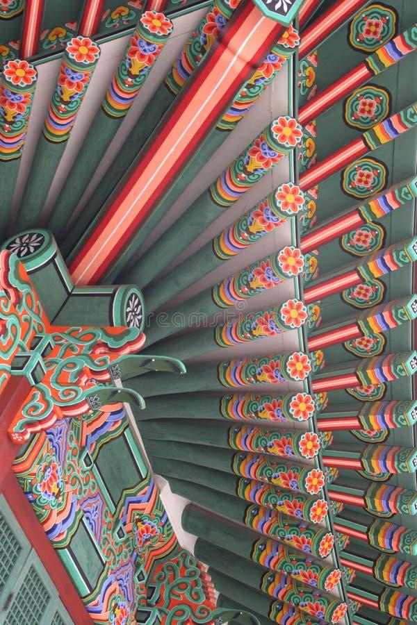 Koreaans paleis royalty-vrije stock fotografie