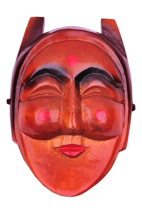 Koreaans traditioneel vrouwelijk masker stock afbeeldingen