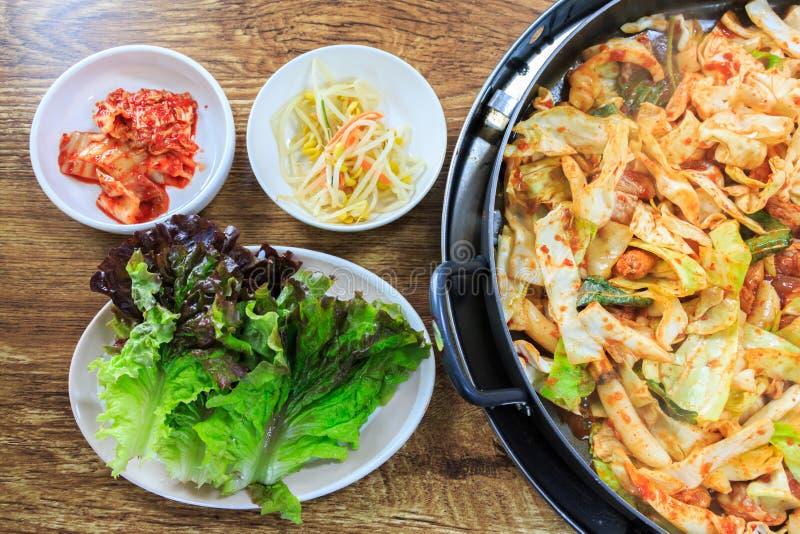 Koreaans voedsel stock afbeelding