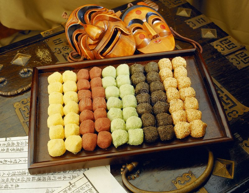 Koreaans Voedsel royalty-vrije stock fotografie