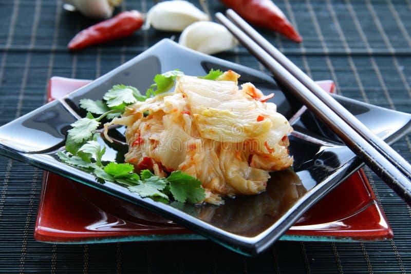 Koreaans voedsel Kimchi stock afbeeldingen