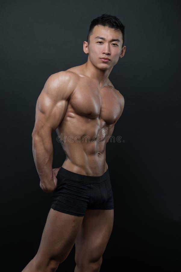 Koreaanse atleet stock foto's
