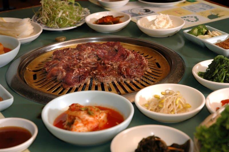 Koreaanse barbecue stock foto's
