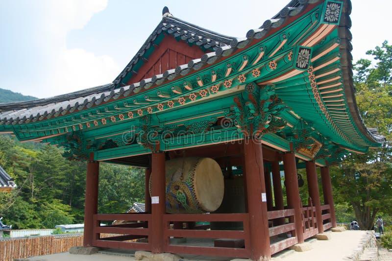Koreaanse Boeddhistische Tempel stock foto's